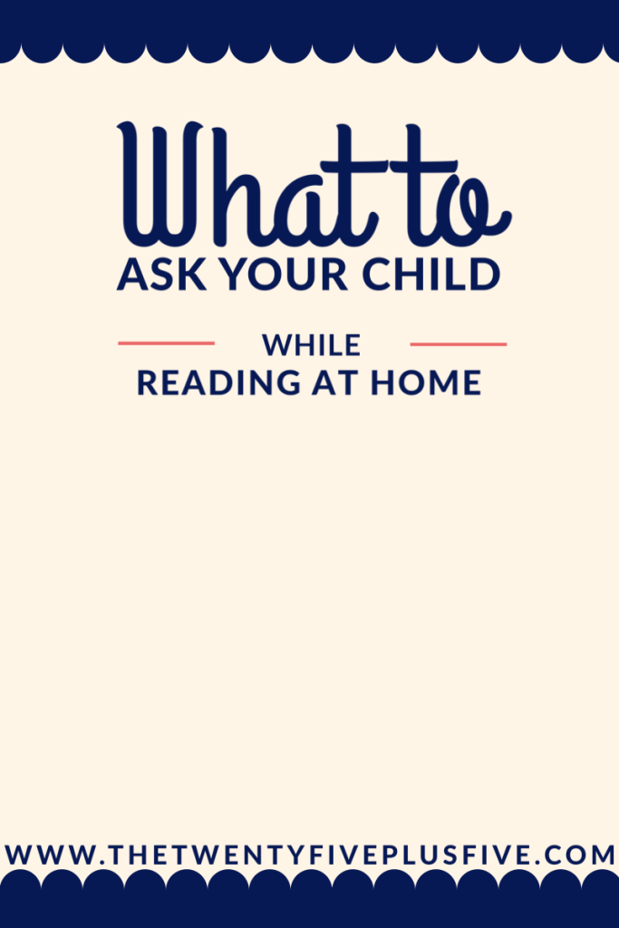 reading independent books at home