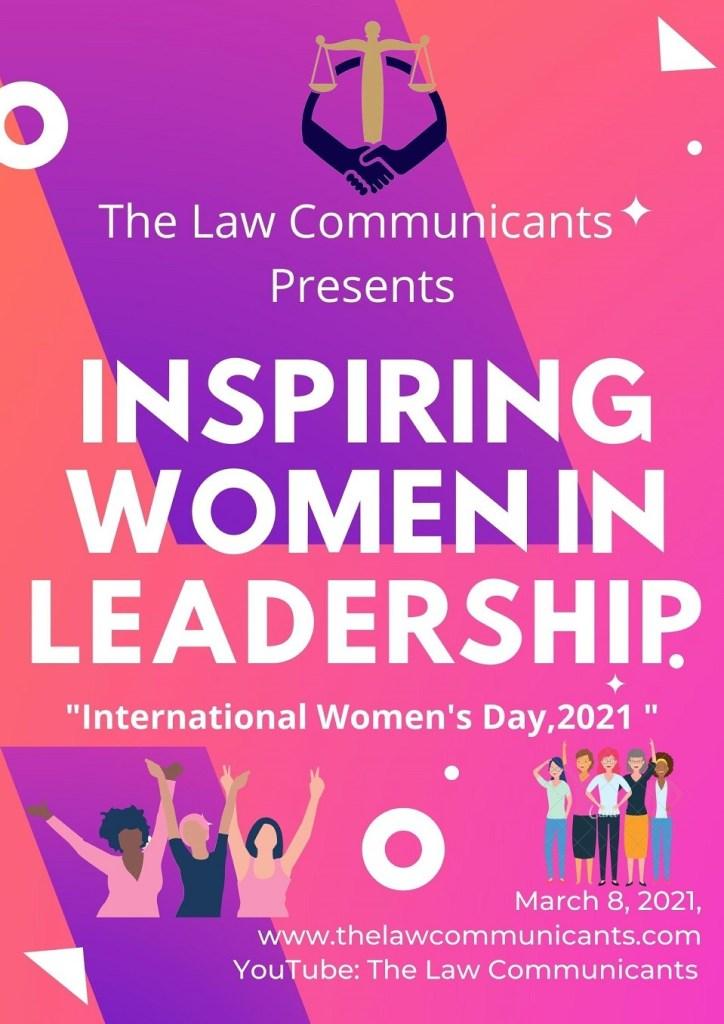International Women's Day 2021- The Law Communicants