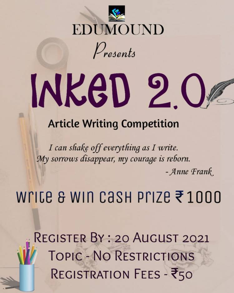 Call for Articles by EduMound: National Article Writing Competition