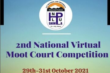 National Virtual Moot Court Competition - The Law Communicants