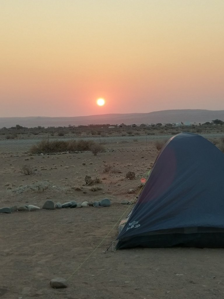 Sunset from Campsite No. 10