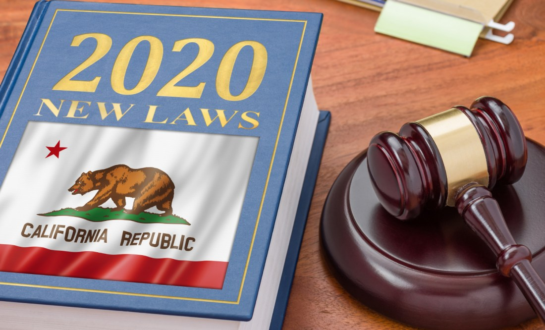 California New Laws Business Family Health