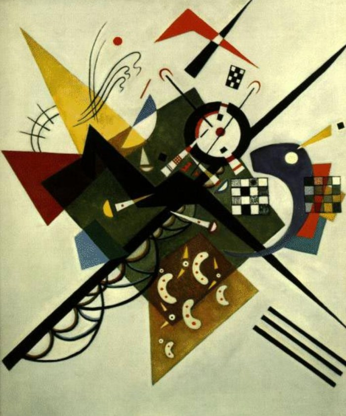 Wassily Kandinsky and the Linear Path of God's Love