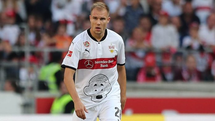 Badstuber Playing For Stuttgart