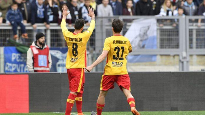 Lazio vs Benevento Cataldi