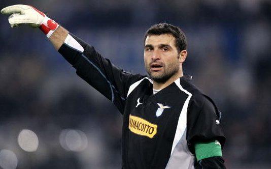 Angelo Peruzzi playing for Lazio, Source: CITTACELESTE