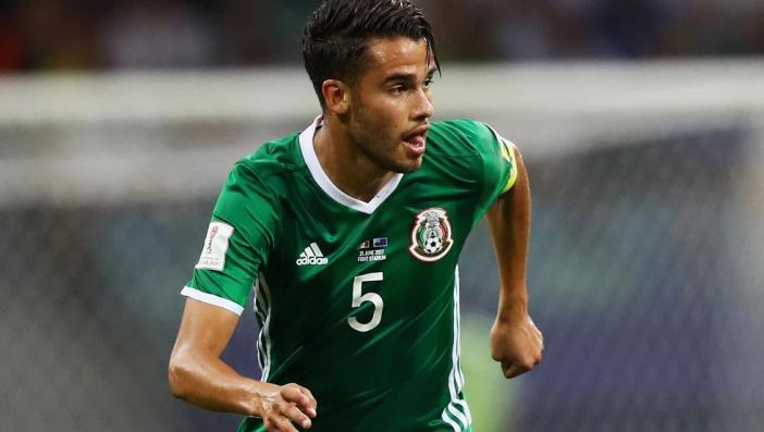 Diego Reyes playing for his country Mexico, Source: mundodeportivo.com