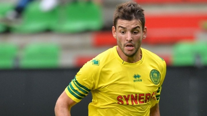 Filip Djordjevic Playing for Nantes, Source: paneecalcio.com