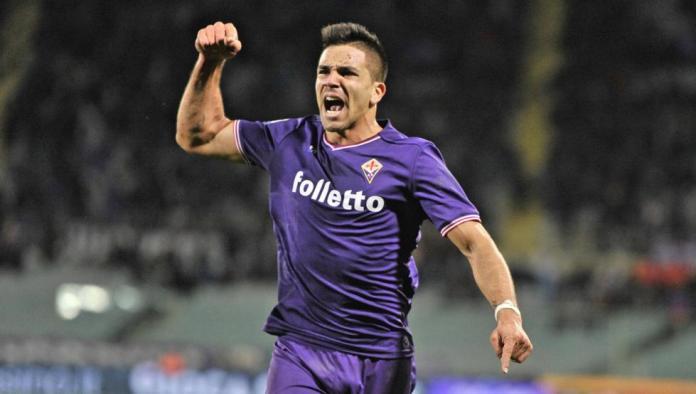 Giovanni Simeone Celebrates a Goal Scored for Fiorentina, Source: mundodeportivo.com