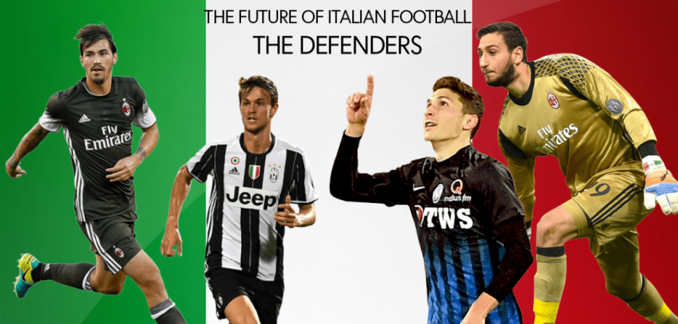 The Future of Italian Football, The Defenders