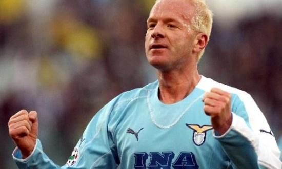 Igli Tare playing for Lazio, Source: laziopolis.it