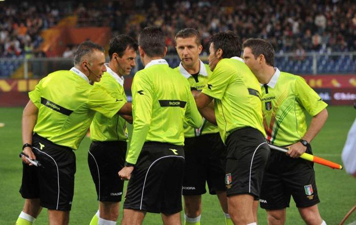 Italian Referee Strikes