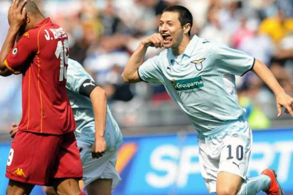 Zarate Playing For Lazio, Source: superscommesse.it