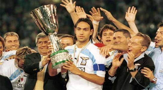 Alessandro Nesta playing for Lazio, Source- laziostory.it