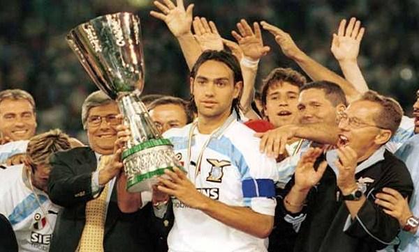 Alessandro Nesta playing for Lazio, Source- laziostory.it