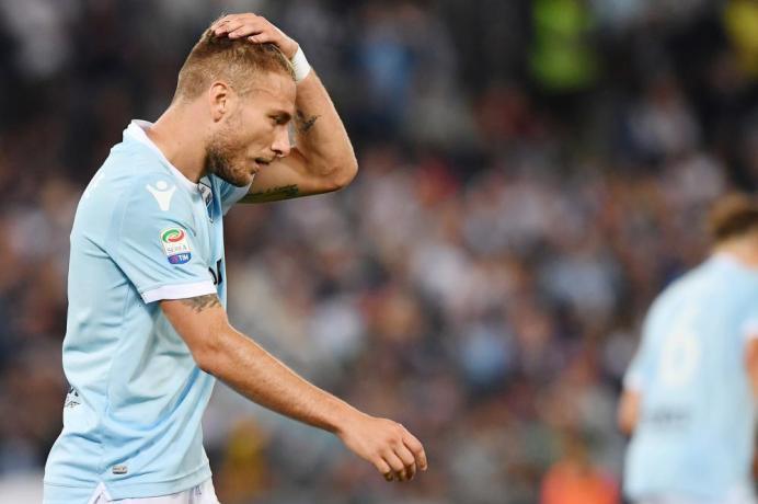 Ciro Immobile of Lazio, Source- TUTTOmercatoWEB.com