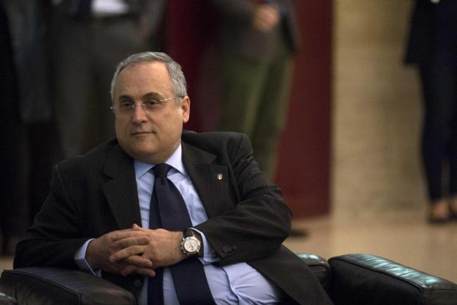 Claudio Lotito, Lazio president, Source- CalcioWeb
