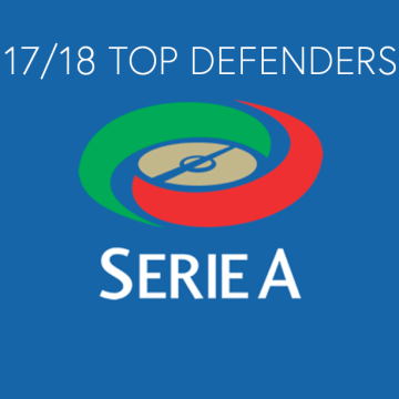 The 2017/18 Serie A TIM: Top 5 Defenders
