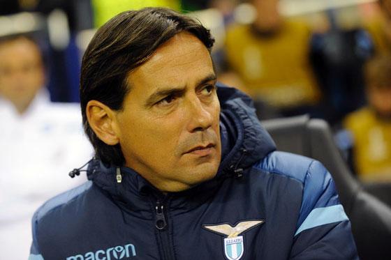 Simone Inzaghi of Lazio, Source- OGC NICE