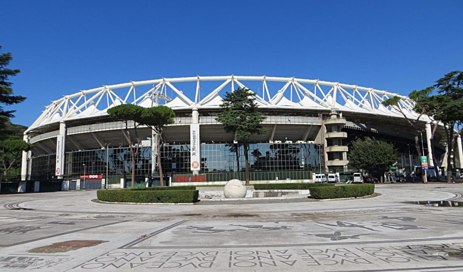 The Stadio Olimpico, Source- Since1900