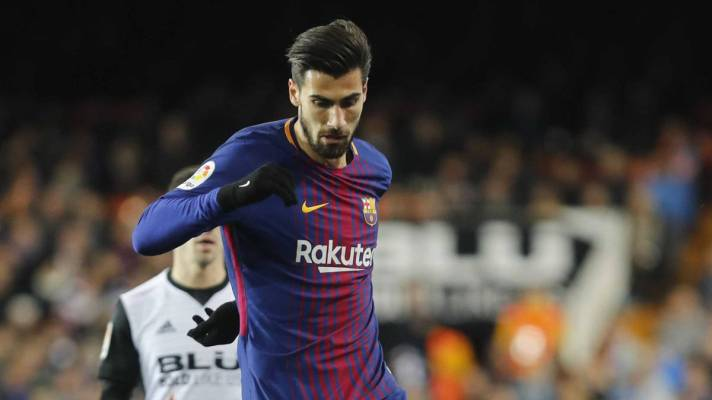 André Gomes of Barcelona. Source: AS English