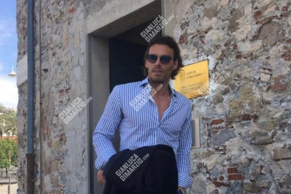 First pictures of Federico Marchetti in Genoa, Source: GianlucaDiMarzio