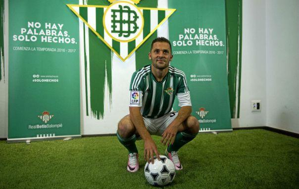 Riza Durmisi of Real Betis, Source- Marca
