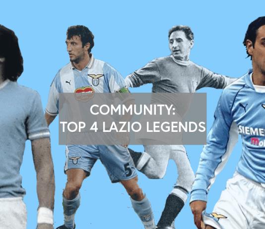 Community: Top 3 Lazio Legends