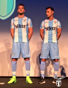 Lazio to present the new 2018 19 kits on Thursday at Rinascente di via del  Tritone ced4d691f