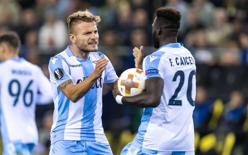 Ciro Immobile and Felipe Caicedo, Source- Getty Images
