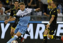 Ciro Immobile against Frosinone in Matchday 3, Source- Goal.com