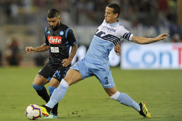Luiz Felipe against Napoli in Matchday 1, Source- Zimbio