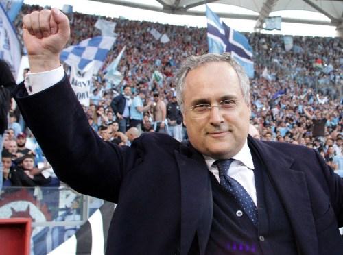 Claudio Lotito, Source- Ortica Web