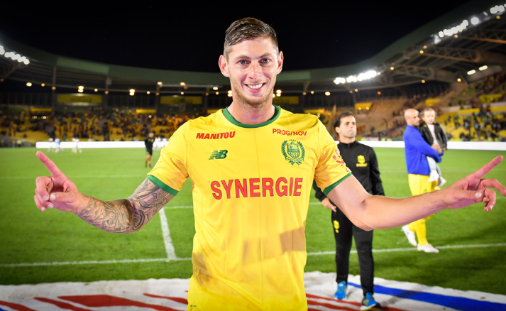 Emiliano Sala, Source- Nantes FC Official