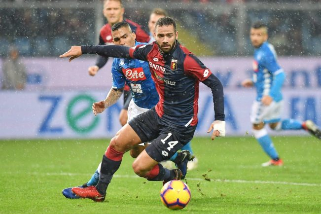 Genoa vs Napoli, Source- GenoaCFC Official