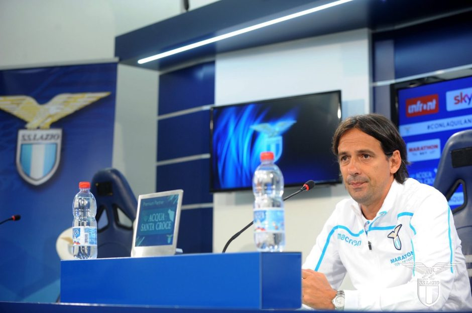 Simone Inzaghi Presser, Source- Official S.S.Lazio