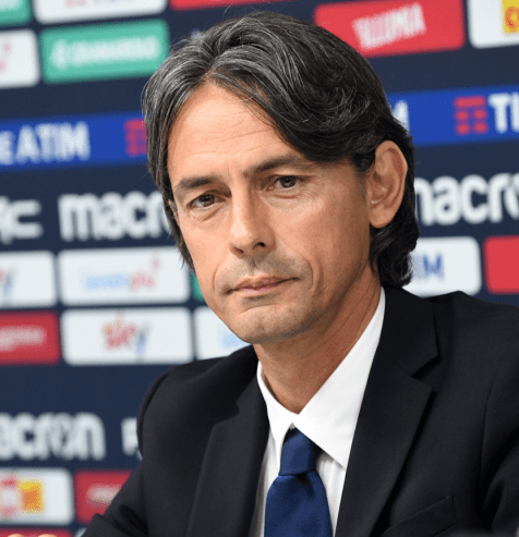 Filippo Inzaghi, Source- Getty Images