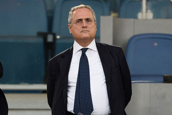 Claudio Lotito, Source- Getty