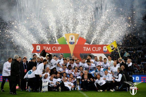 Lazio 2018/19 Coppa Italia Winners, Source- Official S.S.Lazio