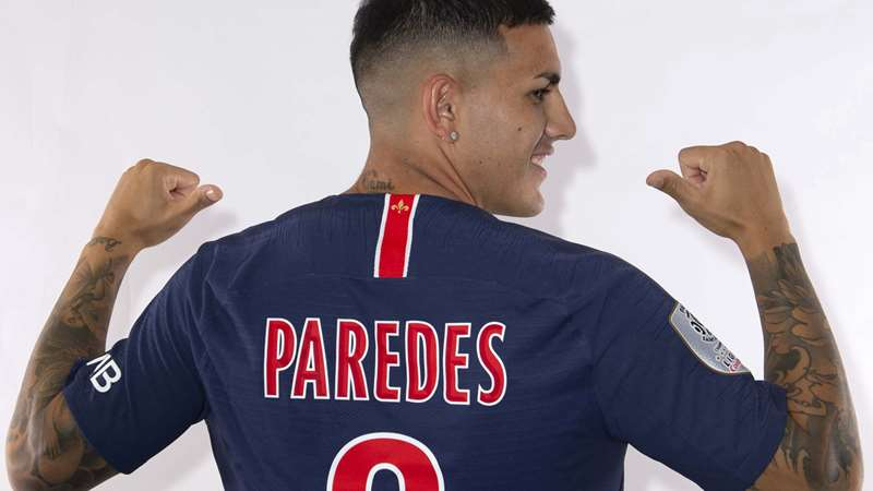 Leandro Paredes - Source - PSG