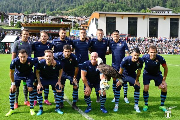 Lazio vs Triestina, Source- Offical S.S.Lazio