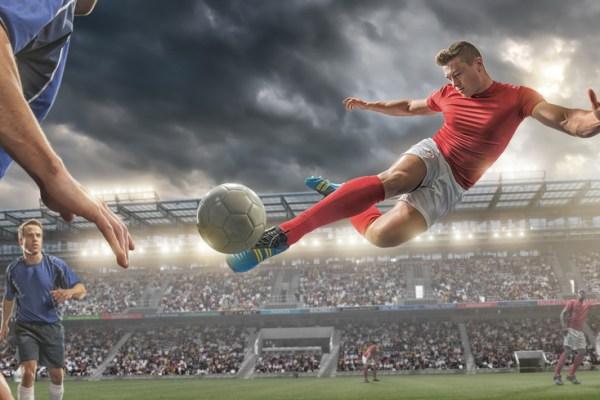 Soccer Volley Kick