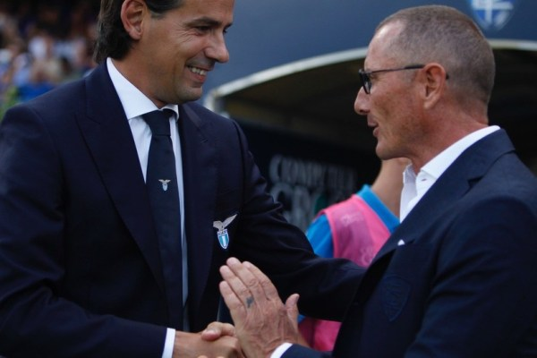 Simone Inzaghi and Aurelio Andreazzoli, Source- LaPresse