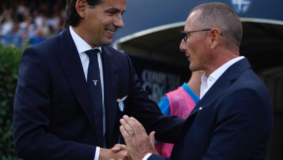 Simone Inzaghi and Aurelio Andreazzoli, Source- LaPresse