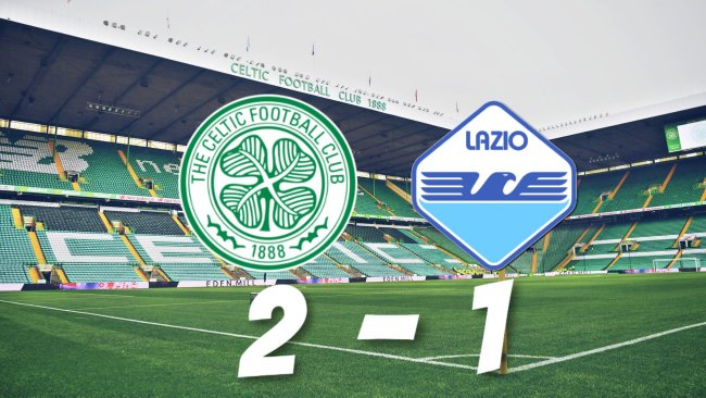 Celtic vs Lazio, Source- @MattyLewis11