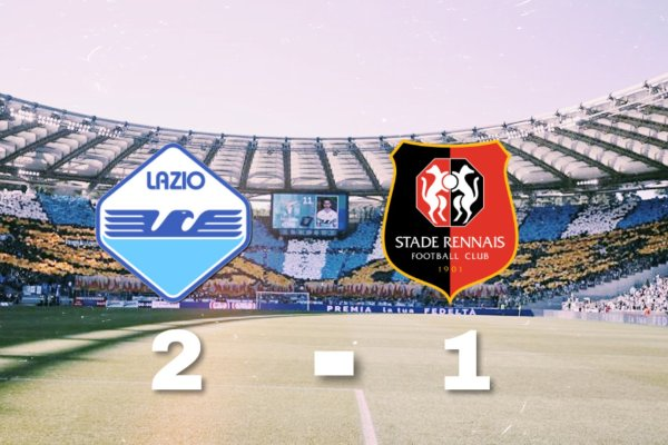 Lazio vs Rennes, Source- @MattyLewis11