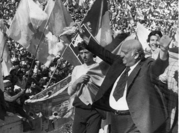 Former Lazio President Umberto Lenzini, Source- Lazioface