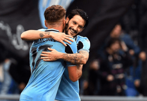Ciro Immobile and Luis Alberto, Source- Official S.S.Lazio