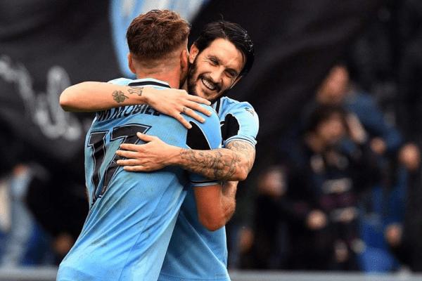 Ciro Immobile and Luis Alberto, Source- Official S.S.Lazio