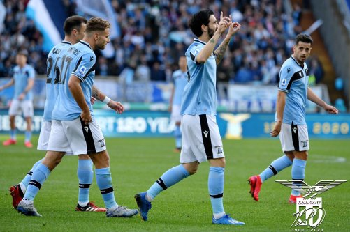 Luis Alberto, Ciro Immobile, Stefan Radu, & Jony, Source- Official S.S. Lazio